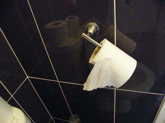 Moneylands Farm: broken toilet tissue handle