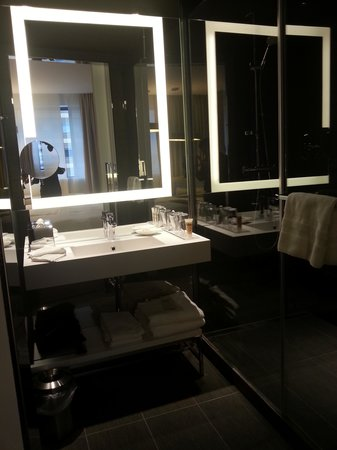Pullman Brussels Centre Midi Hotel: Nice bathroom