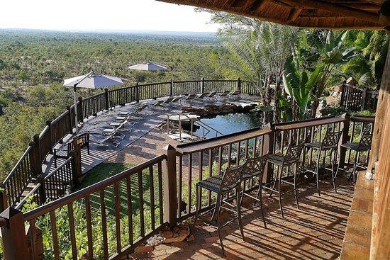 Victoria Falls Safari Club: View from the Buffalo Bar