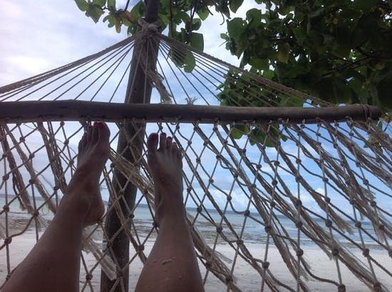 The Manta Resort: hammock bliss
