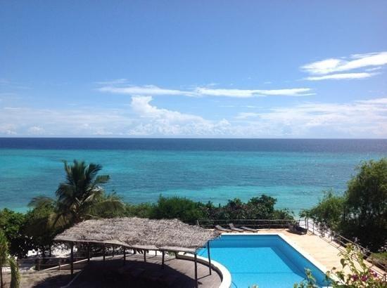 The Manta Resort: deck view