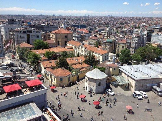 CVK Hotels Taksim: Vista dalla camera 1709