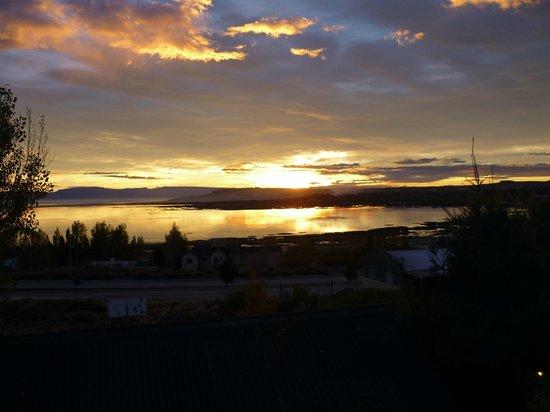 Solares Del Sur: Amanecer desde la ventana de la habitación