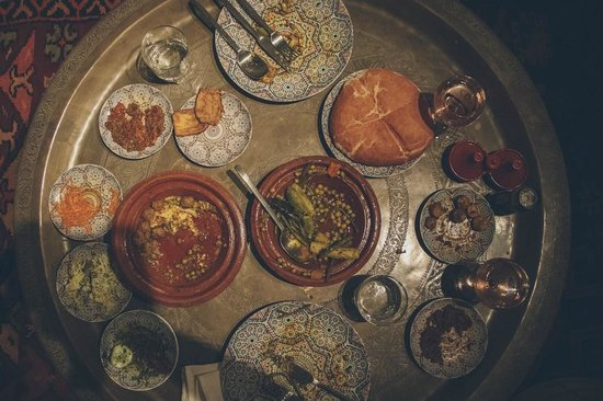 P'tit Habibi: The first and probably best meal we had in Marrakech.