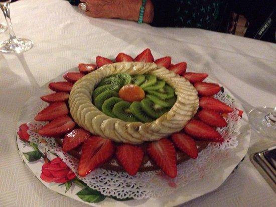Belvedere: Dessert