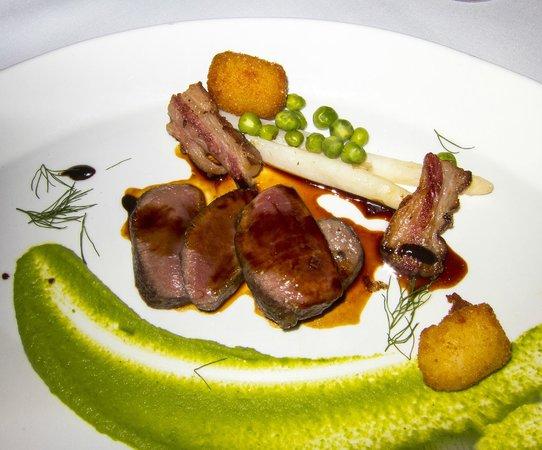 The Bernards Inn Restaurant: Lamb