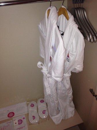 Barut Kemer: Robes in wardrobe.  Big wardrobes