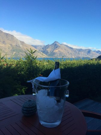 Azur: Welcome gift with a breathtaking view