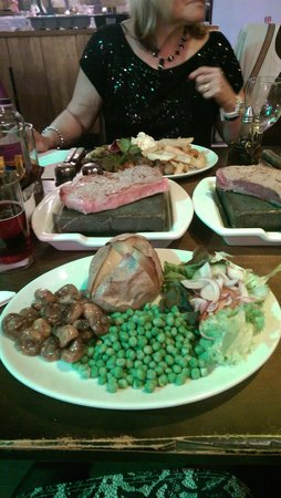 Porters Restaurant and Bar: Steak to die for