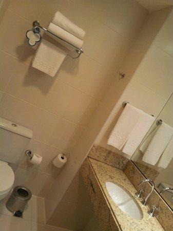 Mercure Salvador Pituba : Banheiro amplo e limpo