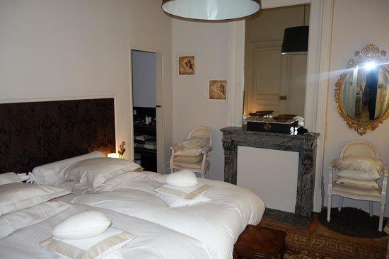 La Maison du Champlain : Bedroom