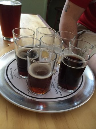 Angier, NC: Flight samples