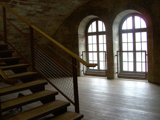 Barrage Vauban : Interior view