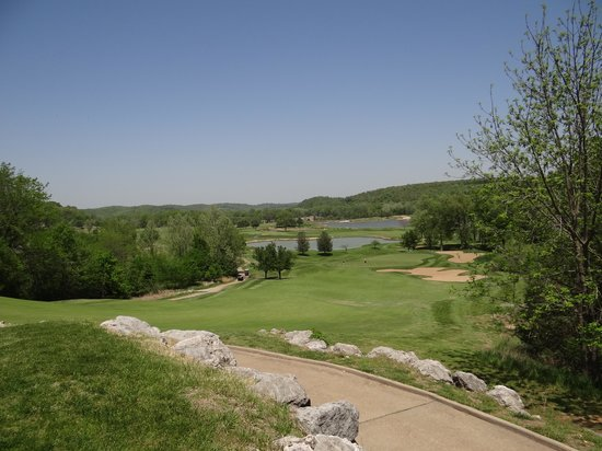 Osage National Golf Club: Mountain Course 8th green