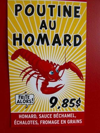 Frite Alors: Poutine au homard