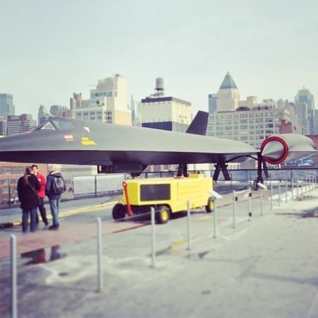Intrepid Sea, Air & Space Museum: black bird