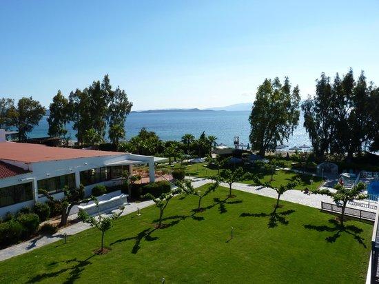 Golden Coast Hotel & Bungalows : VUE SUR MER
