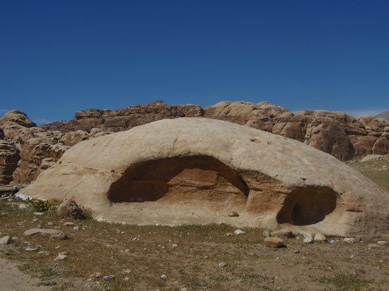 Beidha : Felsenlandschaft