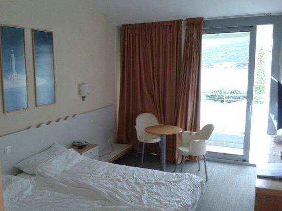 Valamar Club Dubrovnik: Chambre double avec balcon et vue sur parc