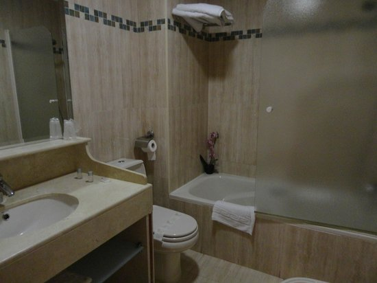 Reina Cristina Hotel: il bagno