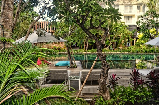 Fontana Hotel Bali: Pool (Room View)