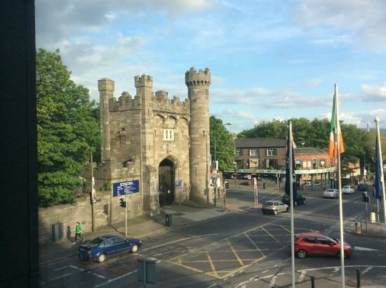 Hilton Dublin Kilmainham: view from window (room 124)