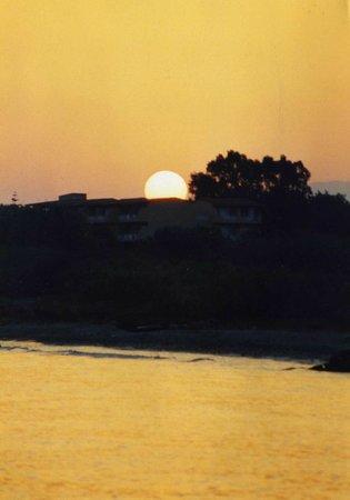 Angela Beach Hotel: sunset