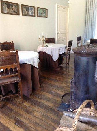 Chateau d'Auteuil : La petite salle à manger pour le petit déjeuner