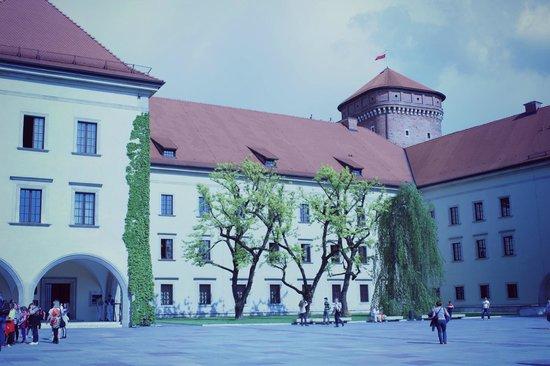 Wawel Royal Castle: Внутренний двор1