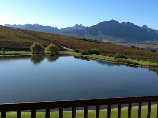 Asara Wine Estate & Hotel: the view from the room