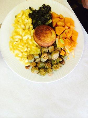 Okra: Great vegetables.