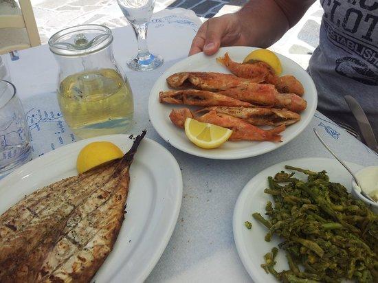 Lefkiano Restaurant : pesce fresco