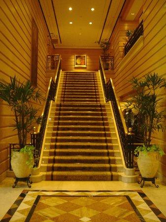 InterContinental Hotel Buenos Aires: Escada para o cafe da manhã