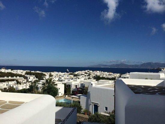 Rochari Hotel : my balcony view