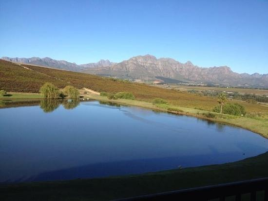 Asara Wine Estate & Hotel : amazing view from the balcony