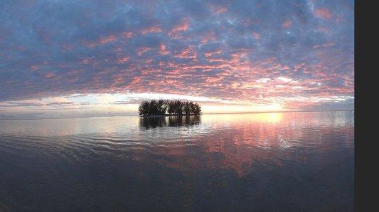 Moorea Fare Miti Sunset