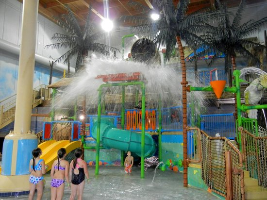 Edgewater Hotel & Waterpark: Waterpark