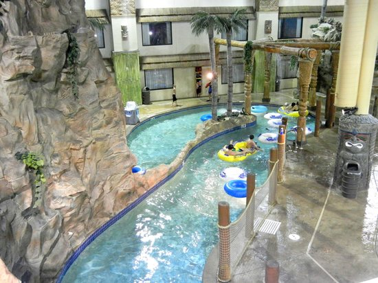 Edgewater Hotel Waterpark Lazy River