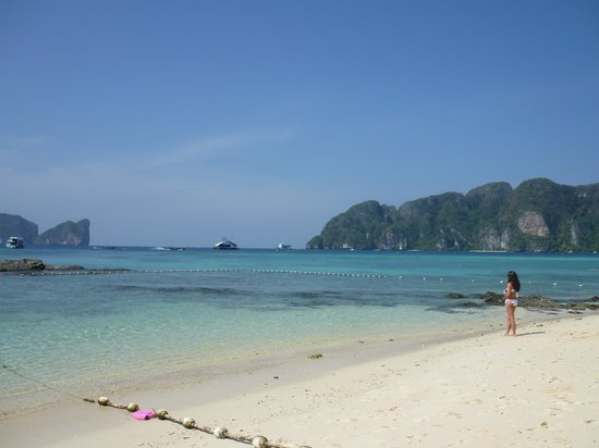 Phi Phi The Beach Resort : plage