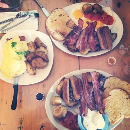 Blue Fox Cafe: Crazy Good and enormous portion size