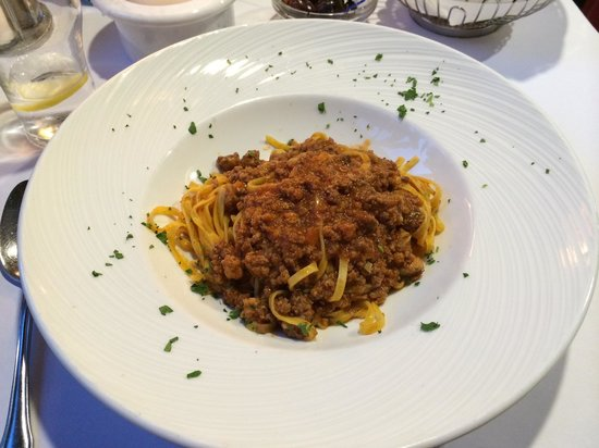 Ristorante Italiano : Espaguetis boloñesa!