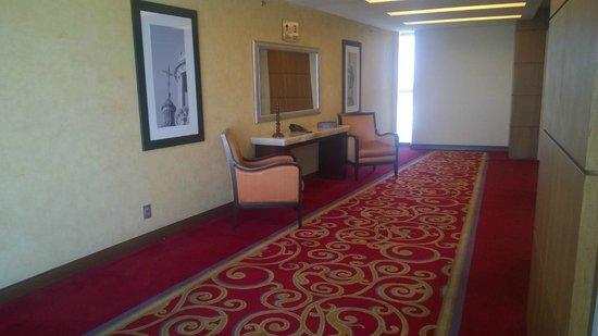 Aguascalientes Marriott Hotel: Pasillos