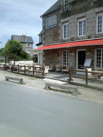 La Vicomte-sur-Rance, France: restaurant le lyvet gourmand