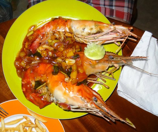 Lemongrass cafe: sea food