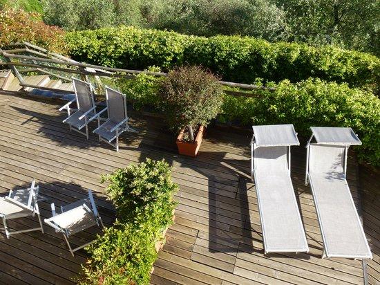 Villa Paggi Country House: vue sur la terrasse