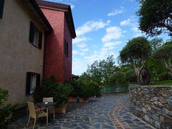 Villa Paggi Country House: de nombreux endroits calmes