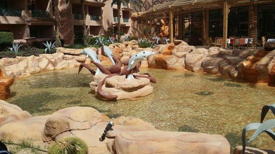 Park Inn by Radisson Sharm El Sheikh Resort: Middle of hotel grounds