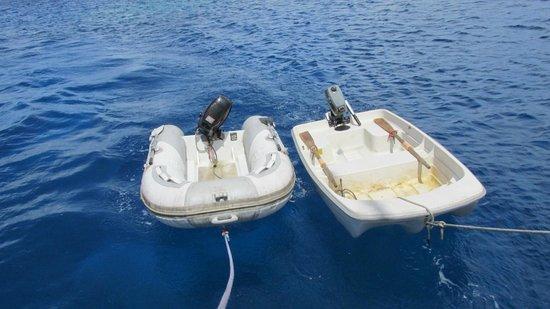 Sail Rarotonga Ltd: Our transport to the motus on Suwarrow