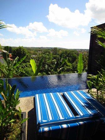 Jimbaran Cliffs Private Hotel & Spa : view from villa