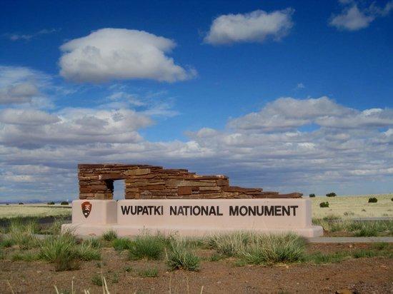 Wupatki National Monument: One Entrance Point